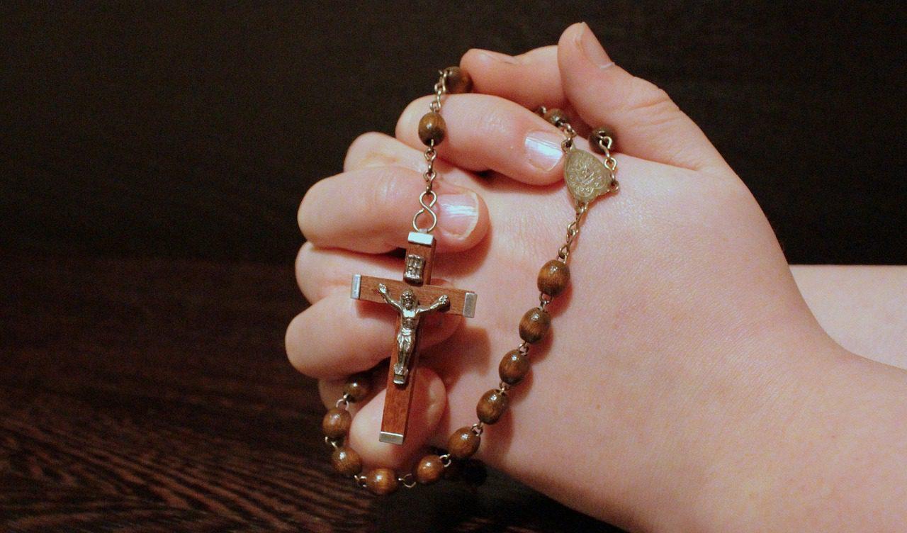 rosary, faith, pray